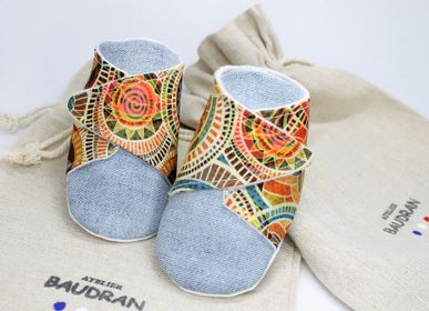 Children's apparel - Baby shoes, 6/9 months - ATELIER  BAUDRAN