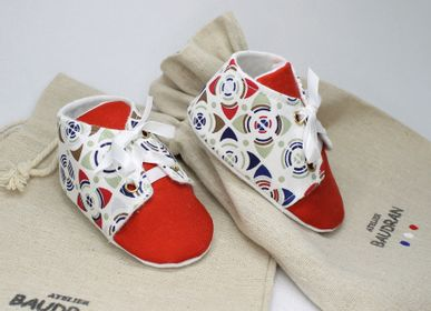 Children's apparel - Baby shoes, 3/6 months - ATELIER  BAUDRAN