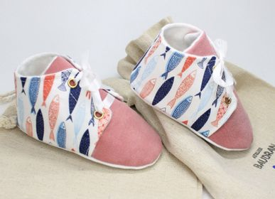 Children's apparel - Baby shoes, 9/12 months - ATELIER  BAUDRAN