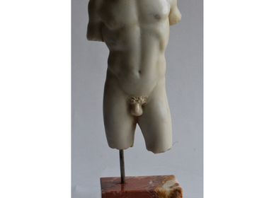 Sculptures, statuettes and miniatures - Small Male Torso n. 4 - TODINI SCULTURE