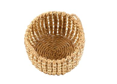 Baskets - SET 2 WATER HYACINTH BASKETS Ø37X34 AX21505 - ANDREA HOUSE
