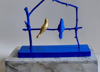 Sculptures, statuettes and miniatures - Blue stilts, edition of 8 copies  - ARTOO ATELIER