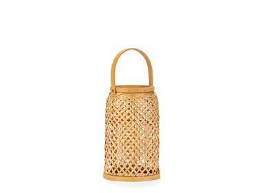 Decorative objects - BAMBOO LANTERN 20X20X30 AX21512 - ANDREA HOUSE