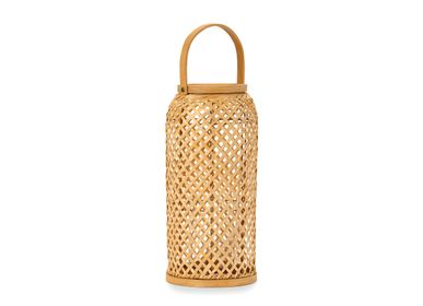 Decorative objects - BAMBOO LANTERN 20X20X40 AX21513 - ANDREA HOUSE