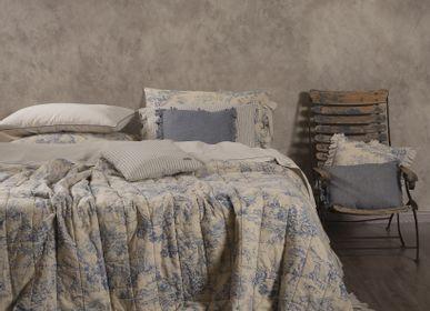Bed linens - JOUY CELESTE - OPIFICIO DEI SOGNI