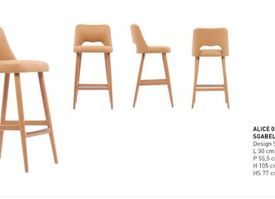 Chairs for hospitalities & contracts - Alice chair  - PIANI BY RIGISED