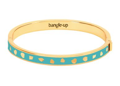 Bijoux - Bracelet Jude - Bleu Lagon  - BANGLE UP