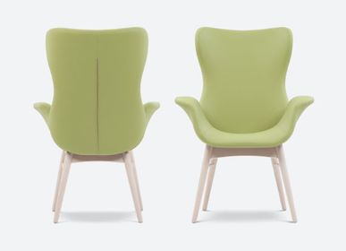 Chairs for hospitalities & contracts - Tulip chair - PIANI BY RIGISED