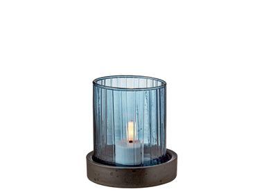 Vases - BITZ Hurricane w. LED candle 11 cm  - BITZ