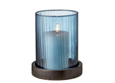 Vases - BITZ Hurricane w. LED candle 17 cm - BITZ