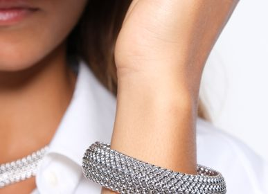 Jewelry - Silver mesh bracelet - LINEA ITALIA SRL