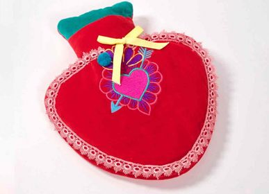 Comforters and pillows - Hot Water Bottle Heart red - NOÏ