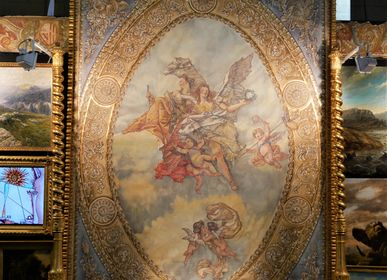 Paintings - Nobility and virtue of Tiepolo - IVAN CESCHIN FRESCOES DECORATION RESTORATION