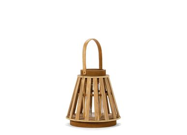 Decorative objects - MDF LANTERN 25,5X25,5X25 AX21516 - ANDREA HOUSE