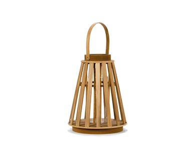 Decorative objects - MDF LANTERN 26,5X26,5X32 AX21517 - ANDREA HOUSE