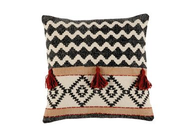 Fabric cushions - SHARMA COTTON CUSHION 45X45 CM AX21519 - ANDREA HOUSE
