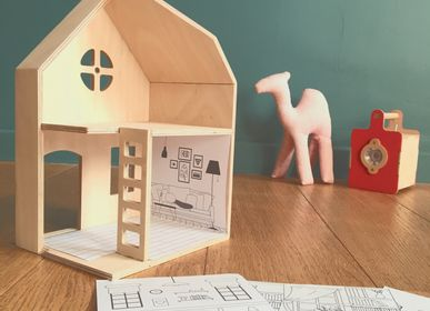 Children's arts and crafts - Archie's House, building and decorating project - MANUFACTURE EN FAMILLE