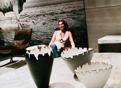 Vases - GUSCI/SHELLS MEDIUM FAN SHAPED VASE - EVA MUN
