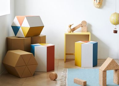 Children's tables and chairs - RIKI Stool - METROCS