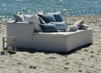 Sofas - MERIDIENNE DAYBED TAILOR-MADE ONE THOUSAND AND ONE NIGHT - BERENGERE LEROY