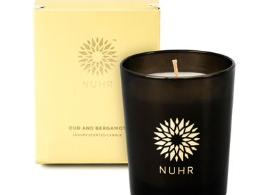 Gifts - Oud & Bergamot Luxury Scented Candle - NUHR