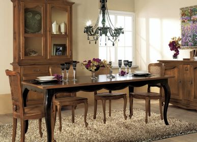 Dining Tables - French Provincial dining tables with extendable or fixed top - INTERIORS ITALIA