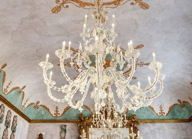 Hanging lights - Caesar, classic glass chandelier  - MULTIFORME