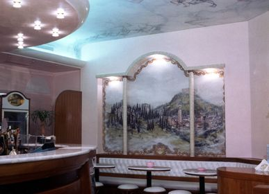 Unique pieces - Decorated ceilings - IVAN CESCHIN FRESCOES DECORATIONS RESTORATIONS