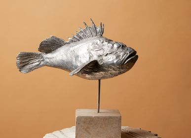 Sculptures, statuettes and miniatures - Aluminum rockfish - ART'Ù FIRENZE