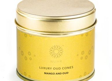 Gifts - Mango and Oud Incense Cones - NUHR