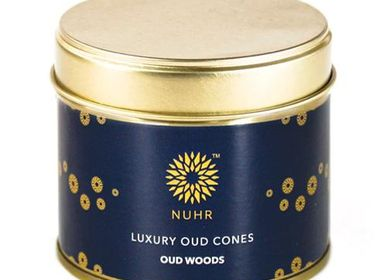Cadeaux - Luxury Oud Incense Cones - Oud Woods - NUHR