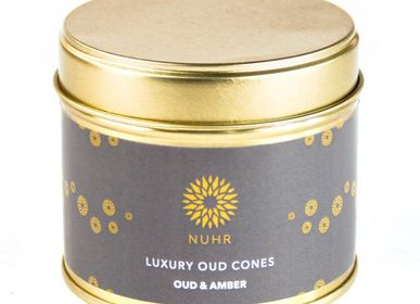 Cadeaux - Luxury Oud Incense Cones - Oud and Amber - NUHR