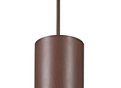 Hanging lights - FLUTE leather - MLE