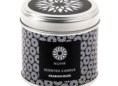 Bougies - Arabian Musk Luxury Scented Candle - NUHR