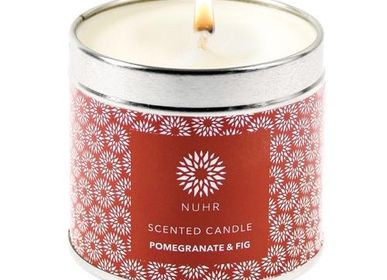 Bougies - Pomegranate & Fig Luxury Scented Candle - NUHR