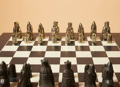 Sculptures, statuettes and miniatures - Viking chessboard - ART'Ù FIRENZE