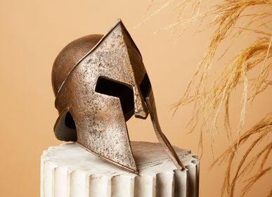 Sculptures, statuettes and miniatures - Helmet - ART'Ù FIRENZE