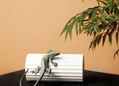 Sculptures, statuettes and miniatures - Lizard - ART'Ù FIRENZE