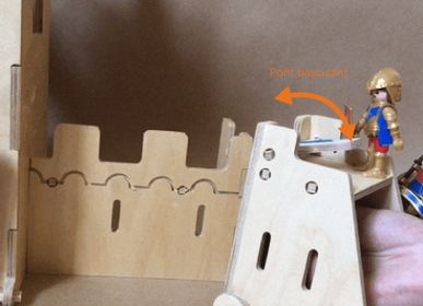 Children's arts and crafts - Plywood's Belfry - MANUFACTURE EN FAMILLE