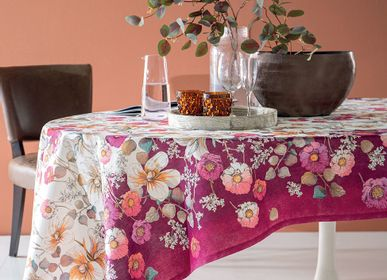 Bed linens - Tablecloth Fiorile 10/12 Guests - DONDI HOME