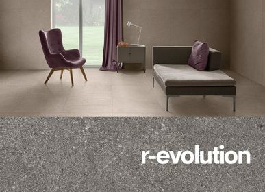 Indoor floor coverings - R-EVOLUTION - CERAMICA EURO