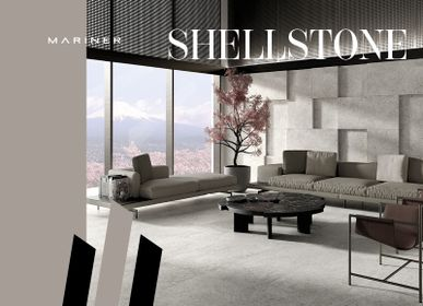 Indoor floor coverings - SHELLSTONE - CERAMICHE MARINER