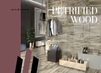 Indoor floor coverings - PETRIFIED WOOD - CERAMICHE MARINER