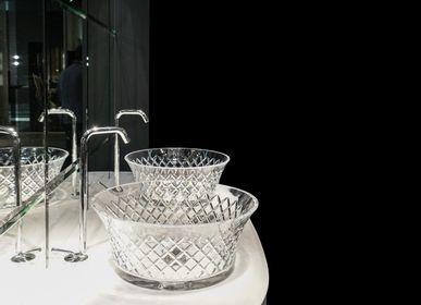Spa - Lavabo 7066 en cristal véritable 24% pb - BIANCHINI & CAPPONI