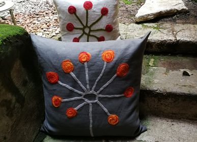Fabric cushions - Decorative cushion Pihlaja - ELENA KIHLMAN