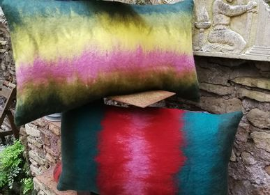 "Fabric cushions - Decorative cushion  ""Mood"" - ELENA KIHLMAN"