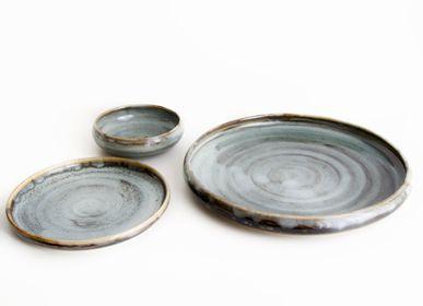 Formal plates - HANDMADE STONEWARE TABLEWARE SET _ CIRCE - MAISON GALA