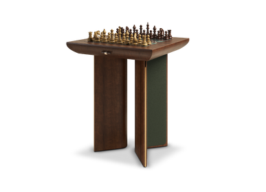 Other tables - Howard Chess Table - WOOD TAILORS CLUB