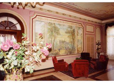 Pièces uniques - Décorations pour hôtels - IVAN CESCHIN FRESCOES DECORATIONS RESTORATIONS