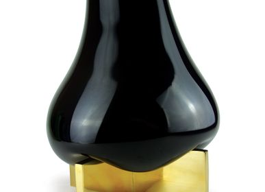 Vases - GRAVITY CROSS Vase Bronze - VANESSA MITRANI